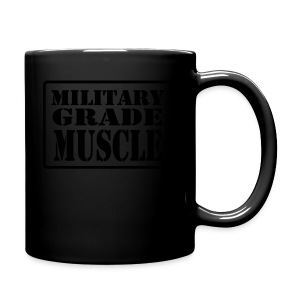 Military Grade Muscle Black - Full Color Mug