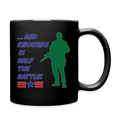 Knowing is Half the Battle - Full Color Mug