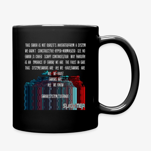 ERROR Lyrics - Full Color Mug