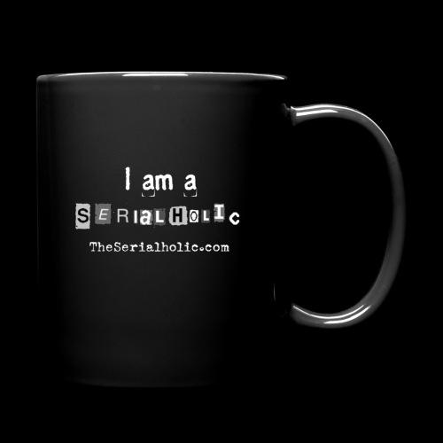 White Serialholic Logo - Full Color Mug