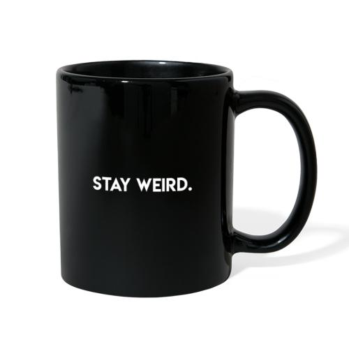 Triple G Stay Weird - White Text - Full Color Mug