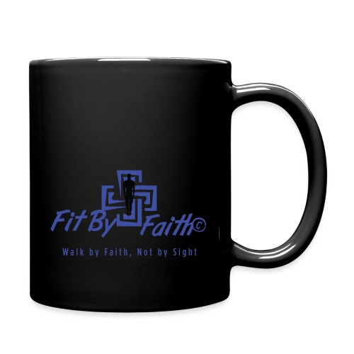 FitbyFaith back png - Full Color Mug