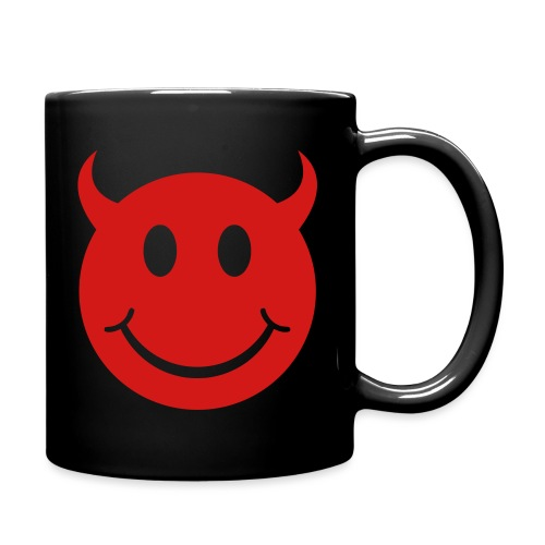 Smiley Devil Face - Full Color Mug