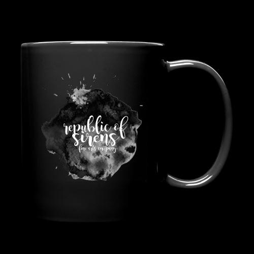 ROS FINE ARTS COMPANY - Black Aqua - Full Color Mug