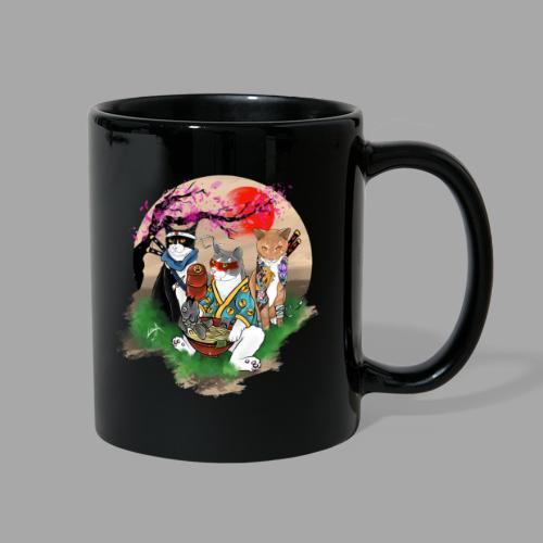 Ninja Cats FAMILY - Full Color Mug