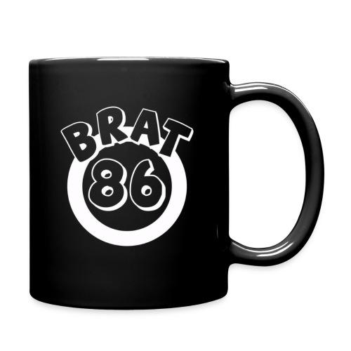 White Design For Black - Full Color Mug