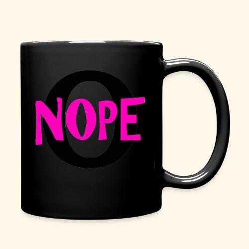 nope to O - Full Color Mug