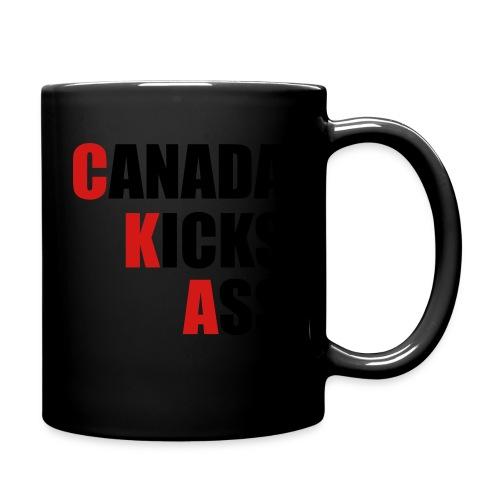 Canada Kicks Ass Vertical - Full Color Mug