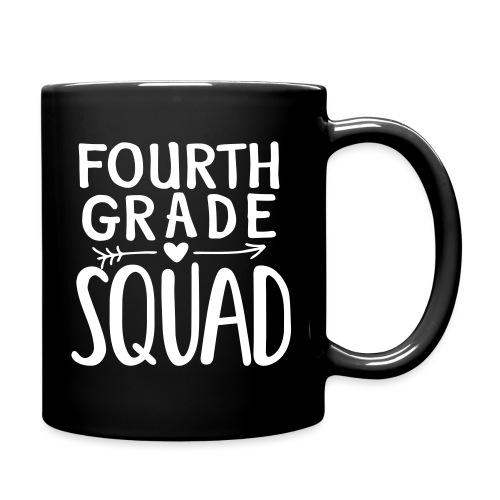 Fourth Grade Squad Teacher Team T-Shirts - Full Color Mug