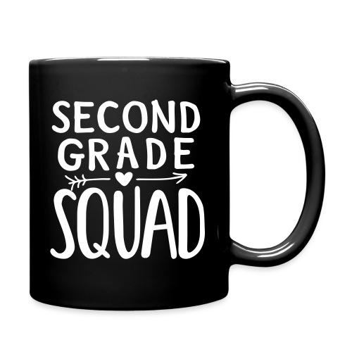 Second Grade Squad Teacher Team T-Shirts - Full Color Mug