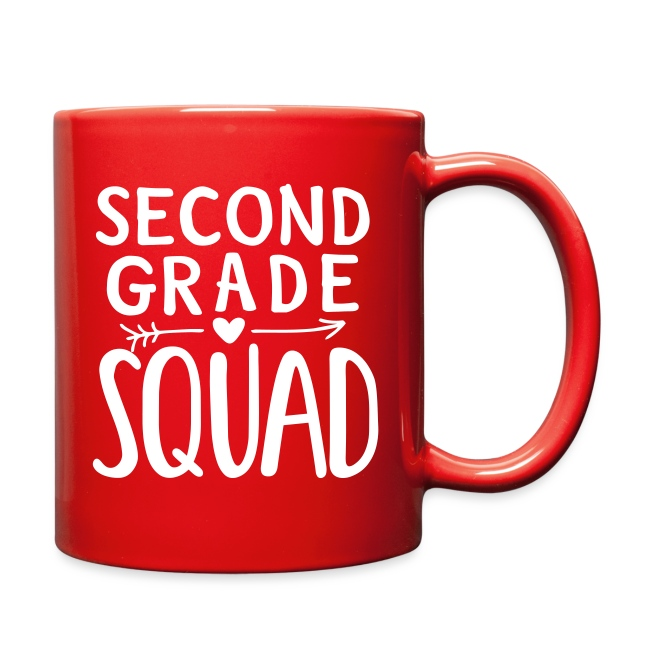 Second Grade Squad Teacher Team T-Shirts