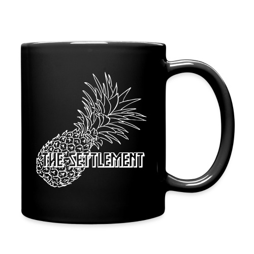 Pineapple with Band Name | The Settlement - Full Color Mug