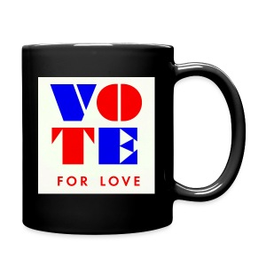 vote4love-sample - Full Color Mug