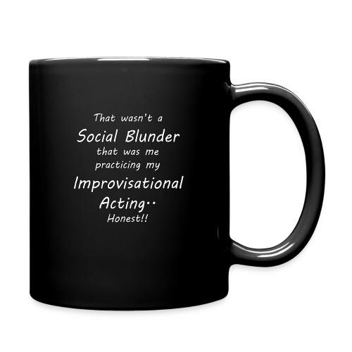 Improvisational Acting - Full Color Mug