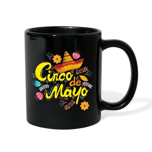 cinco mayo viva mexico - Full Color Mug