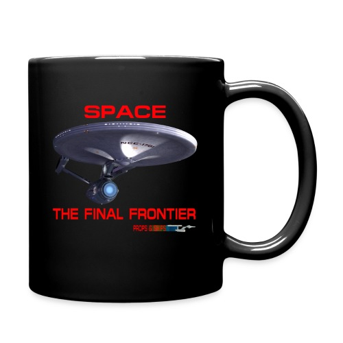 The Final Frontier Props & Ships Tee - Full Color Mug