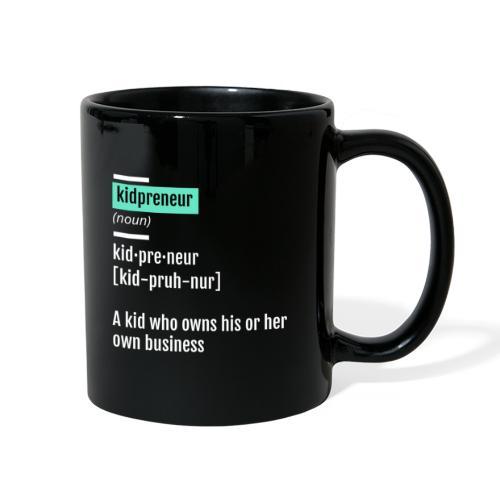 Kidpreneur Definition Mug - Full Color Mug