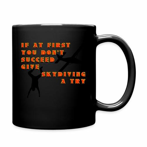 Try Skydiving - Full Color Mug