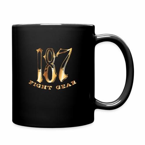 187 Fight Gear Gold Logo Sports Gear - Full Color Mug