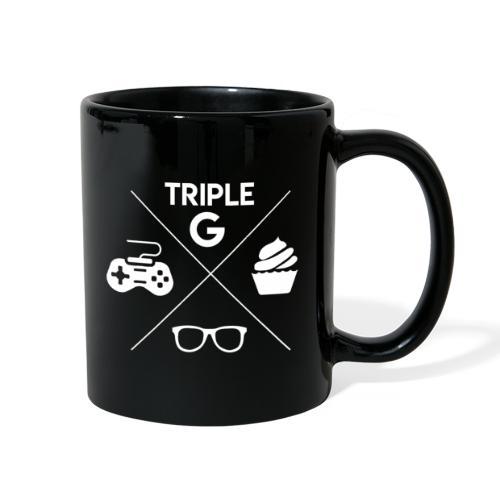 Triple G Crest - White Design - Full Color Mug