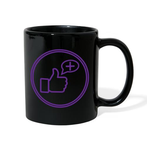 Stay Positive Icons - Full Color Mug