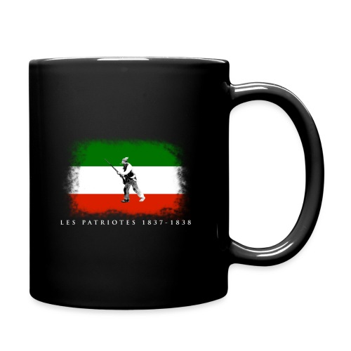Patriote 1837 1838 - Tasse colorée