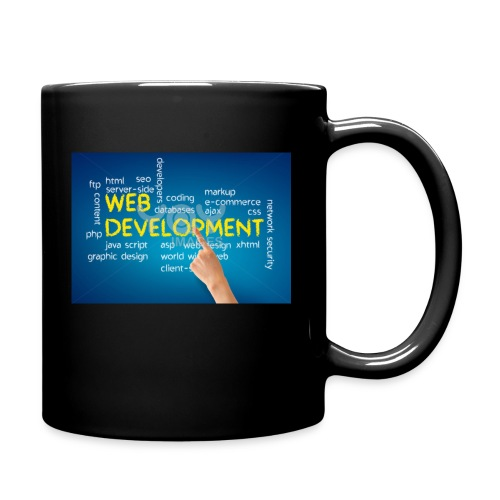 web development design - Full Color Mug