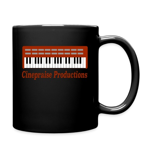 Cinepraise Logo Red Text - Full Color Mug