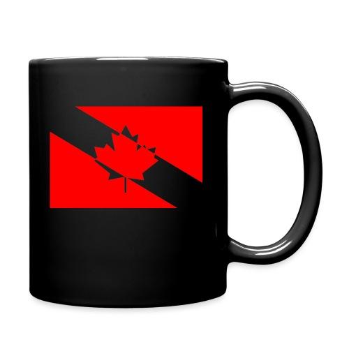 Clear White Dive Canada v. Small - Full Color Mug