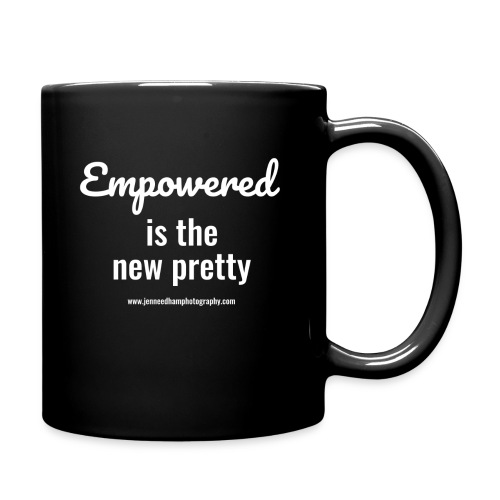 Empowered is the new pretty - Full Color Mug