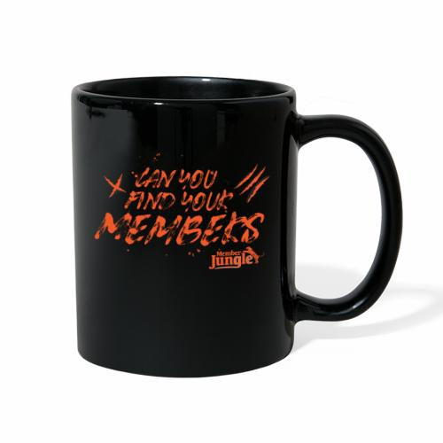 Find Your Members Orange - Full Color Mug