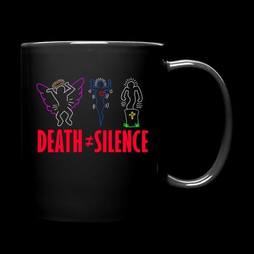 Death Does Not Equal Silence - Full Color Mug