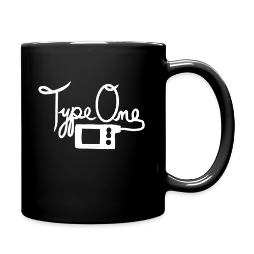 Type One - Insulin Pump 2- White - Full Color Mug