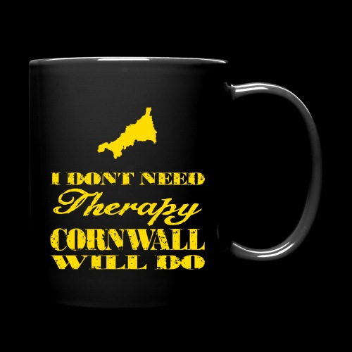Don't need therapy/Cornwall - Full Color Mug