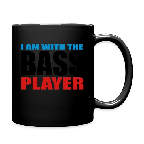 I am with the Bass Player - Full Color Mug