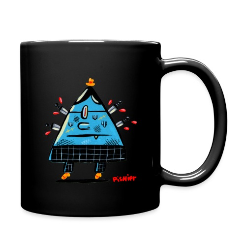 triangle cyclop - Full Color Mug