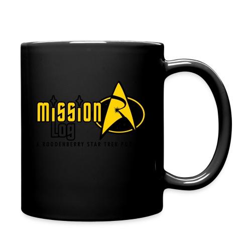 Logo Wide 2 Color Black Text - Full Color Mug