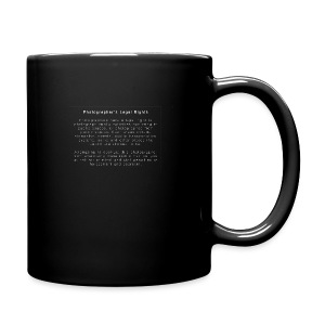 Photographers Legal Rights - Full Color Mug