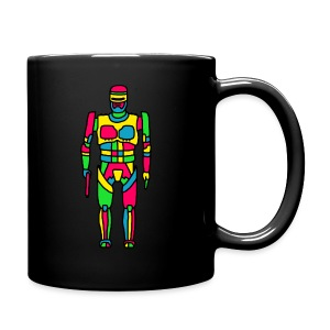 Cartoon Robocop in Color - Full Color Mug