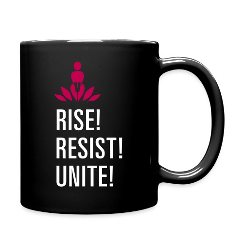 Rise! Resist! Unite! - Full Color Mug