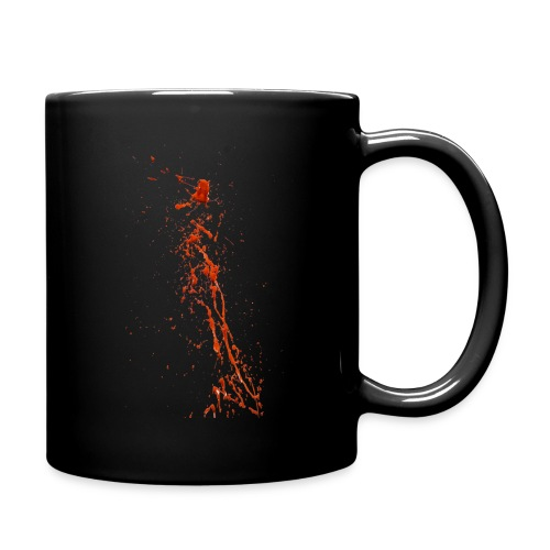 Blood Splatter 87 png - Full Color Mug