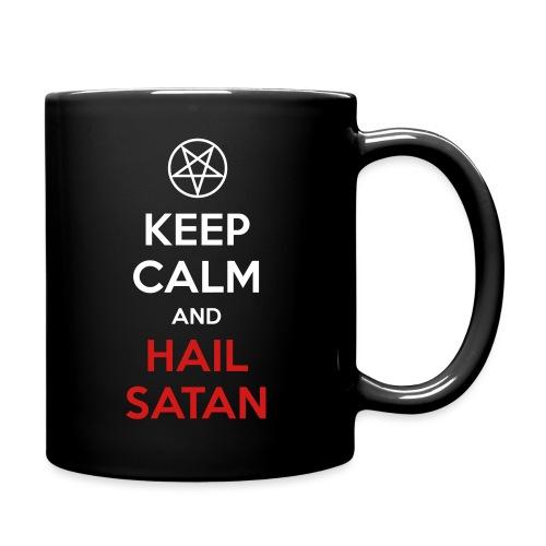Keep Calm and Hail Satan - Full Color Mug