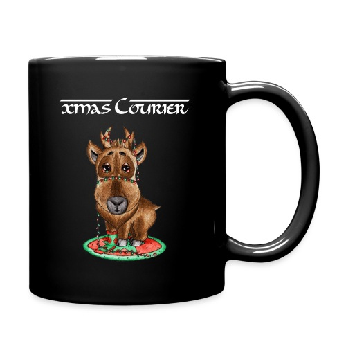 reindeer refined scribble - Full Color Mug