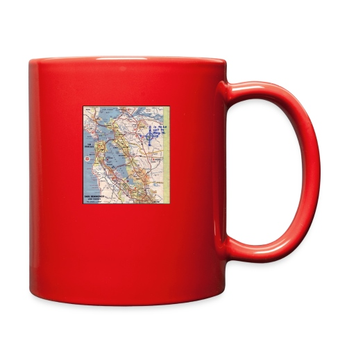 Phillips 66 Zodiac Killer Map June 26 - Full Color Mug