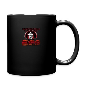 Motivation and Muscle Dominate Obliterate and Dent - Full Color Mug