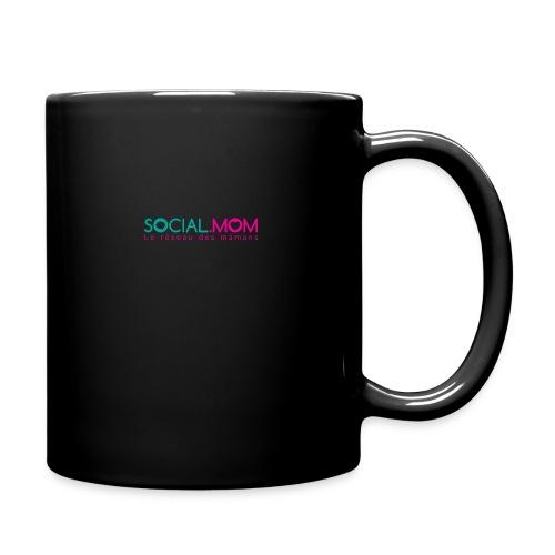 Social.mom logo français - Full Color Mug