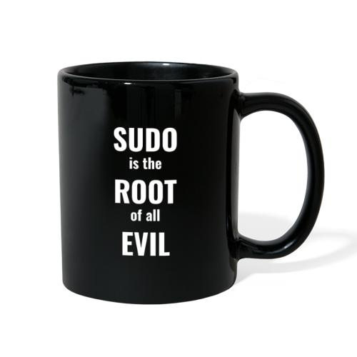 Sudo Is The Root Of All Evil - Full Color Mug