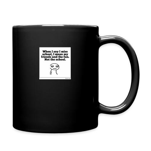 Funny school quote jumper - Full Color Mug