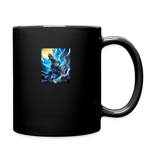 Blue lighting dragom - Full Color Mug