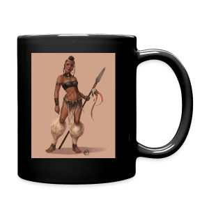Female Warrior - Full Color Mug